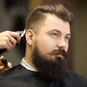 lavado corte barba